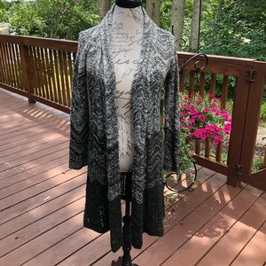 Style & Co Open Front Cardigan